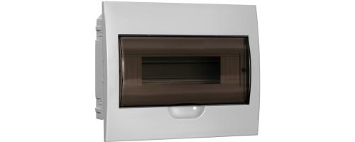 Щит распред. ЩРВ-П-12 IP41 пластиковый белый прозрачная дверь