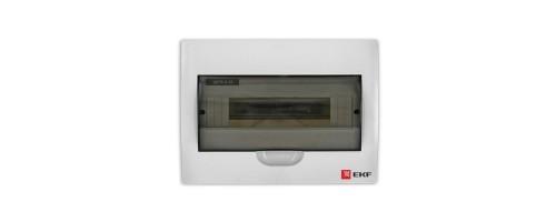 Щит распред. ЩРн-П-12 IP40 пластиковый белый прозрачная дверь