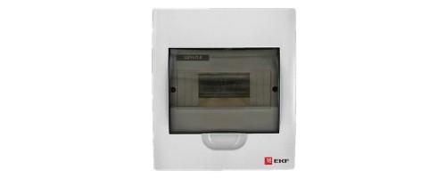 Щит распред. ЩРн-П-8 IP41 пластиковый прозрачная дверь