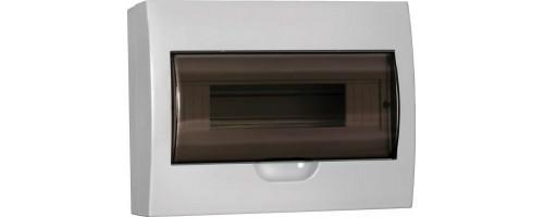 Щит распред. ЩРн-П-12 IP41 пластиковый белый прозрачная дверь