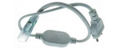 Сетевой шнур с соединителем для LED ленты IP68 LD174