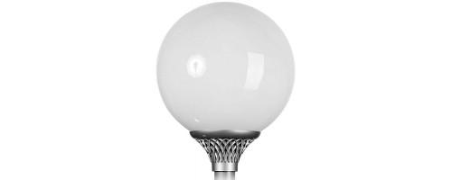Светильник шар уличный D400мм светодиодный 40Вт 2760лм ДТУ 40 LED