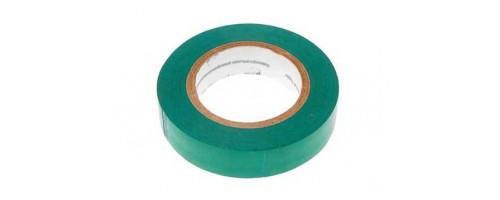 Изолента ПВХ зеленая 15мм 20м