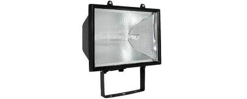 Прожектор уличный ИО 1000 IP54 1000Вт R7s симм черный
