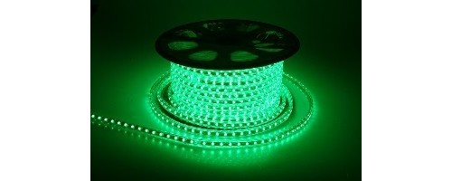 Дюралайт LEDх72/м зелёный 3х жильный