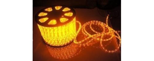 Дюралайт LEDх72/м желтый 3х жильный