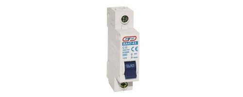 Выключатель автоматический 1п 10А ВА47-63 С10 4.5кА