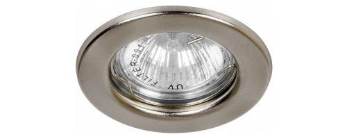 Светильник встраиваемый G5,3 ИВО-50Вт DL10 хром Feron