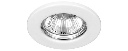 Светильник встраиваемый G5,3 ИВО-50Вт DL10 белый Feron