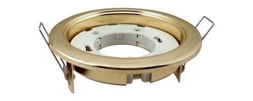 Светильник встраиваемый GX53 ФВО-13Вт золото IP20 Jazzway