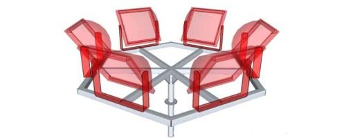 Стационарная корона К6К кронштейн для прожекторов
