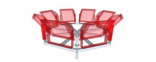 Стационарная корона К8К кронштейн для прожекторов