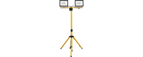 Прожектор светодиодный ДО  2x30Вт 5400лм LL-273 на штативе