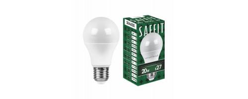 Лампа светодиодная 20Вт E27 1900лм 6,4К Saffit