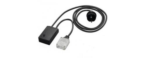 Комплект подключения с контроллером LED-F IP43 для 3х жильного плоского дюралайта