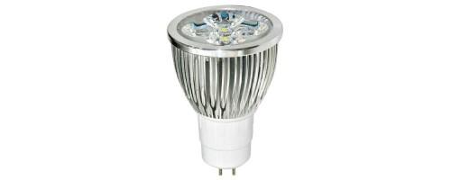 Лампа светодиодная  5Вт GU5.3 400лм 6,4К