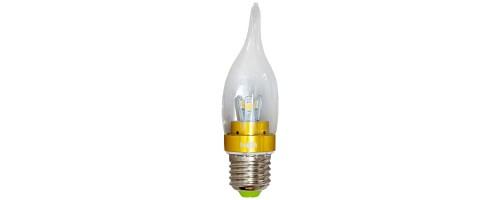 Лампа светодиодная  3,5Вт E27 300лм 2,7К