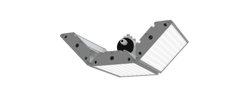 Светильник светодиодный Vi-Lamp Module M1 MK-3 81W Д 120° Al