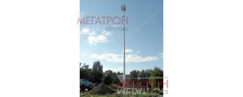 Антенные мачты ВМОТ  ВМОГ  высотой от 16 до 36 метров