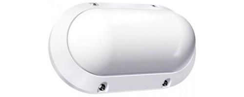 Светильник светодиодный ДБП-7Вт 510лм 4000К IP65 овальный пластиковый белый