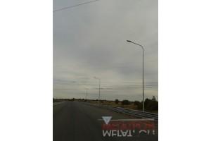Освещение дороги г. Советска