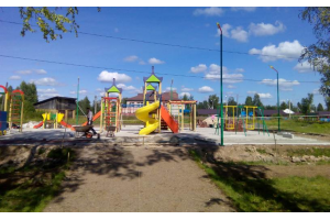 """Осветительный комплекс """"Радуга""""  г.Неболчи, Новгородская обл."""