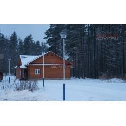 Освещение горнолыжного курорта «Пухтолова гора» СПб