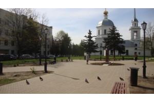 Сквер им.Ниловского С.Ф. в г.Твери