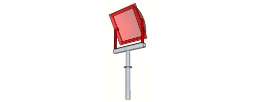 Кронштейн для прожектора КТ-0,2-0,5