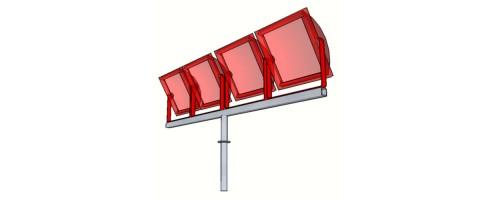 Кронштейн для прожектора КТ-0,2-2,0
