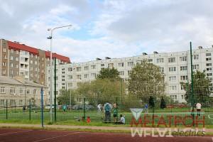 пос. Новоселье Освещение спортивной площадки