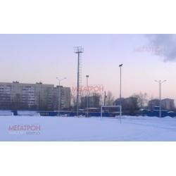 """Освещение стадиона """"Искра"""" СПб"""