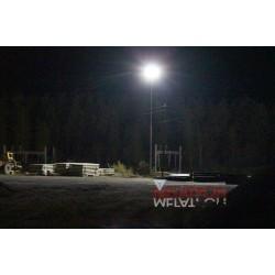 Освещение площадки ККНМ Выборг