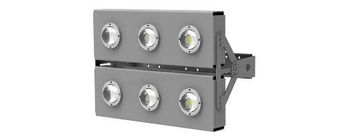 Прожектор светодиодный ДО 360Вт 49800лм SVT-STR-COB-180W-DUO
