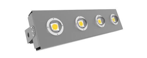 Теплостойкий светильник 160Вт 24000лм SVT-STR-eCOB-160W