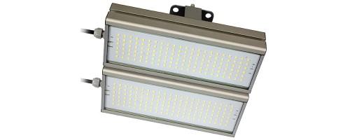 Светильник светодиодный ДКУ  96Вт 13440лм IP67 SVT-STR-M-48W-DUO