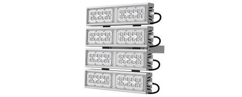 Прожектор светодиодный ДО 212Вт SVT-STR-M-53W-QUATTRO