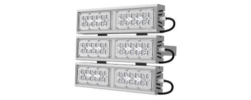 Прожектор светодиодный ДО 159 Вт 21465 лм SVT-STR-M-53W-TRIO