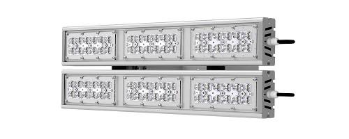 Прожектор светодиодный ДО SVT-STR-M-79W-DUO