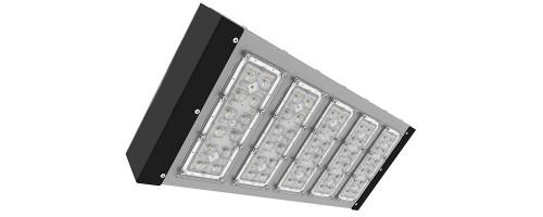 Светильник светодиодный ДКУ 131Вт 17423лм SVT-STR-PSL-131W-45x140