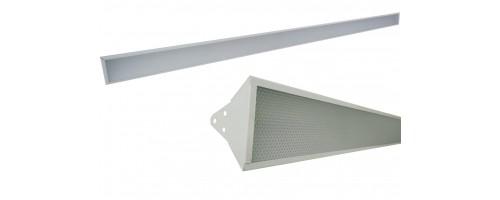 Светильник светодиодный 30-60Вт 6400лм ДСО SVT-RTL-B-L-30/60W-1500-PR подвесной