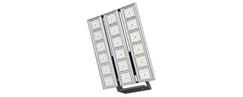 Прожектор светодиодный ДО 543Вт 90000лм NL.UM.543.XX.5K.IP67.X3