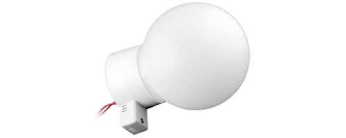 Светильник НББ 64-60-014 с оптико-акустическим датчиком рассеиватель РПА РР 85-150 молочный КОМПЛЕКТ