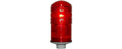 Заградительный огонь ЗОМ-40Вт-220В Е27 красный