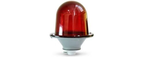 Заградительный огонь ЗОМ-75Вт-220В Е27 красный